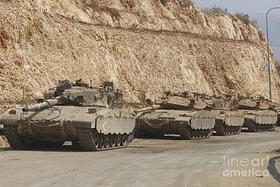 Photograph - Israeli Defense Force Merkava Mark IIi-d by Andrew Chittock