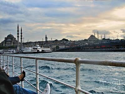 Istanbul  Art Print by Bener Kavukcuoglu