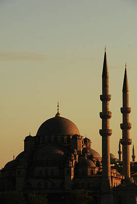 Istanbul Yeni Cami (new Mosque) Art Print
