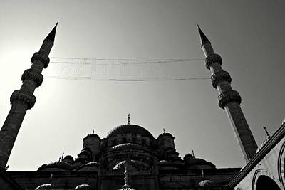 Photograph - Istanbul's Yeni Camii Or New Mosque by Dean Harte