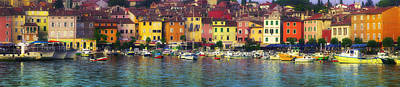Photograph - Istria Harbor-rovinj by John Galbo