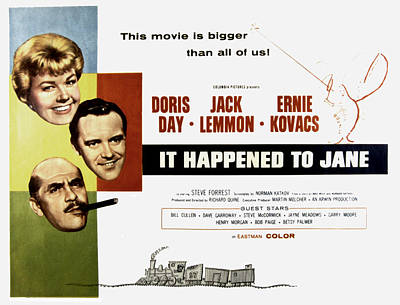 Fid Photograph - It Happened To Jane, Doris Day, Jack by Everett