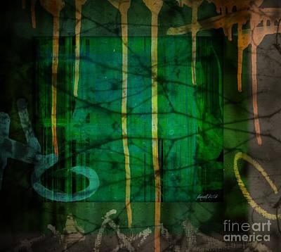 It Runneth Over Art Print by Fania Simon