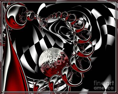 Art Print featuring the digital art It Takes Imagination by Michelle H
