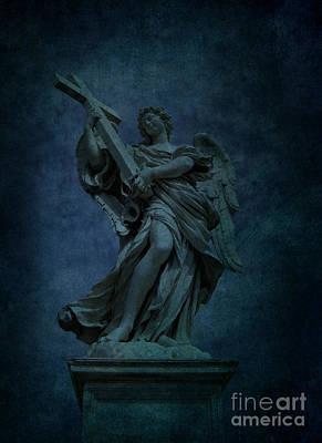 Italian Angel Art Print by Lee Dos Santos