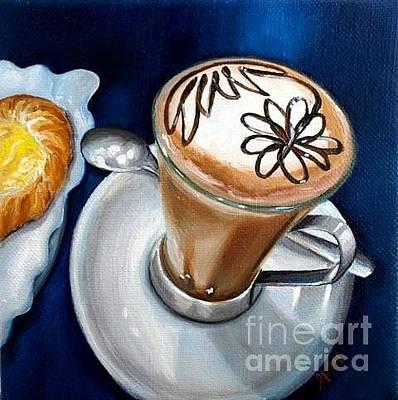 Painting - Italian coffee by Gretchen Matta