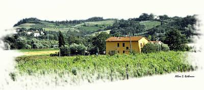 Photograph - Italian Countryside 2 by Allan Rothman