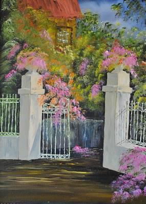 Italian Garden Art Print by James Higgins