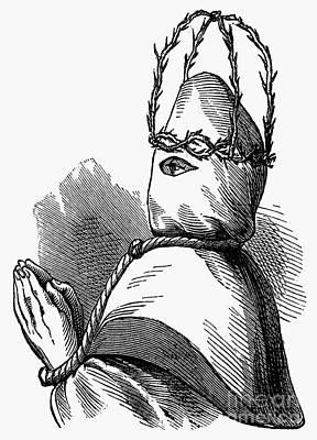 Confession Photograph - Italian Penitent by Granger