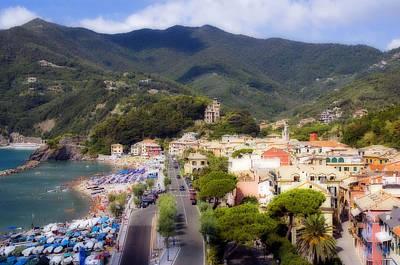 Italian Riviera Art Print by Rod Jones