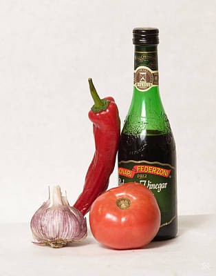 Photograph - Italian Still Life by Jim  Arnold