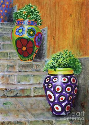 Painting - Italian Vases by Karen Fleschler