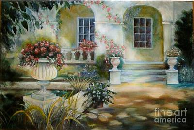Painting - Italian Villa by Geri Jones
