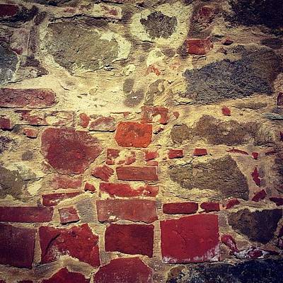 Surface Photograph - Italian Wall by Nic Squirrell
