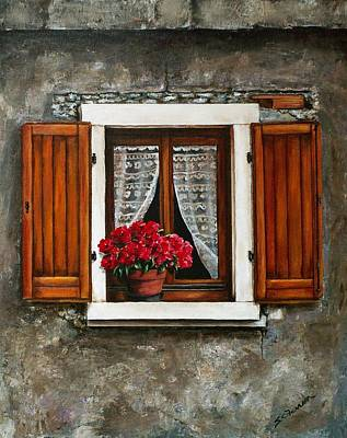 Painting - Italian Window by Sarah Farren