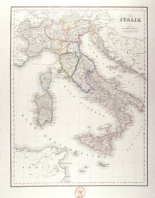 Italy Before Unification Print by Fototeca Storica Nazionale