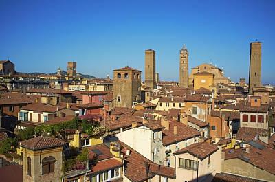 Italy, Emilia-romagna, Bologna, Cityscape Art Print by Bruno Morandi