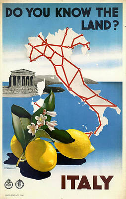 Italy Print by Georgia Fowler