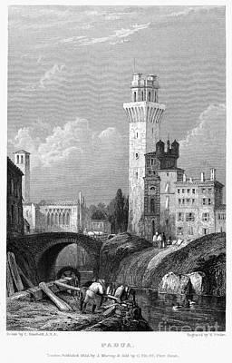1833 Photograph - Italy: Padua, 1833 by Granger