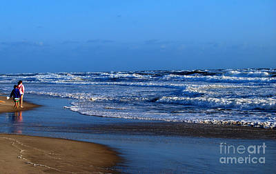 Art Print featuring the photograph It's A Big Ocean Out There by Linda Mesibov