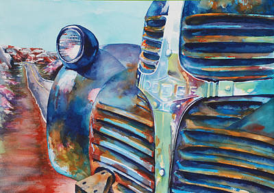 Dodge Truck Painting - Its A Dodge by Donna Pierce-Clark