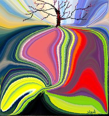 Painting - Its A Tree's Life by Renate Nadi Wesley