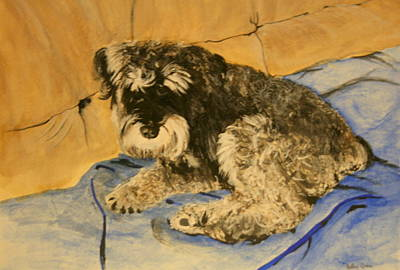 Painting - It's My Sofa by Betty-Anne McDonald