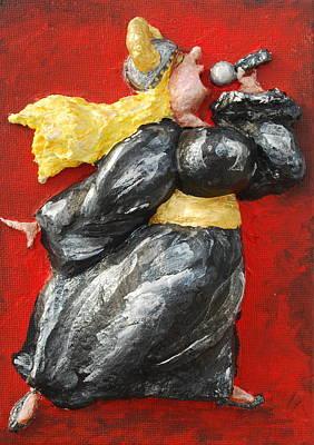 It's Not Over.... Art Print by Alison  Galvan