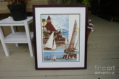 Its Old Its New We Love It Coronado Art Print