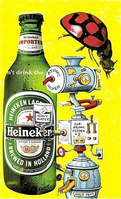 Mixed Media - It's Still Beer by Rob M Harper