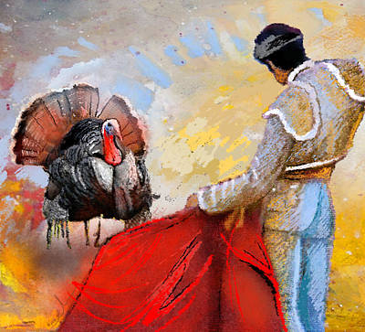 Turkey Digital Art - Its This Or The Oven by Miki De Goodaboom