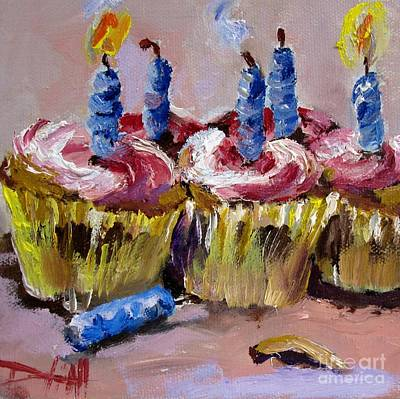 It's Your Birthday Art Print by Delilah  Smith