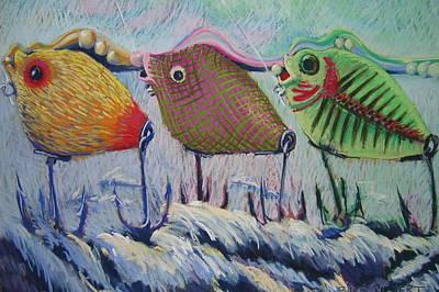 Itty Bitty Pond Art Print by Barbara Richert