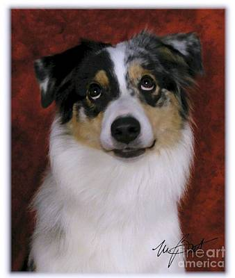 Pup Digital Art - I've Been Very Good by Maxine Bochnia