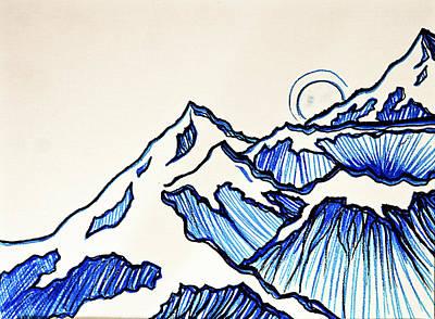 I've Got The Blues Art Print by Stephanie Meyer
