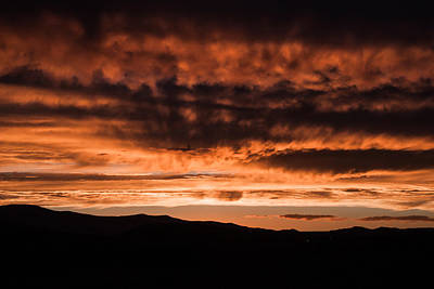 Photograph - Ivins Sunset 5 by Chris Fullmer