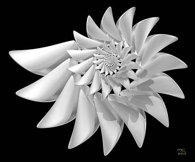 Ivory Art Print by Manny Lorenzo