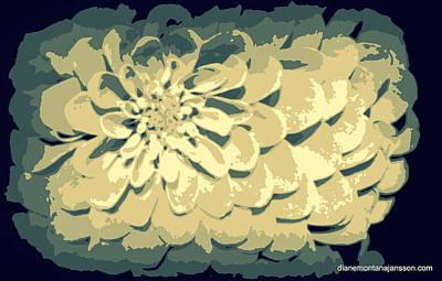 Photograph - Ivory Petals by Diane montana Jansson