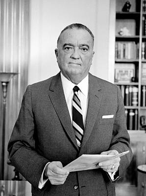 J. Edgar Hoover, Founder Art Print by Everett