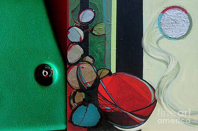 Painting - J Hotography 3 by Marlene Burns