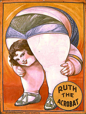 Digital Art - Jack Delano's Side Show Poster by Timothy Bulone