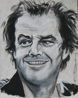 Jack Nicholson Painting - Jack  by Eric Dee