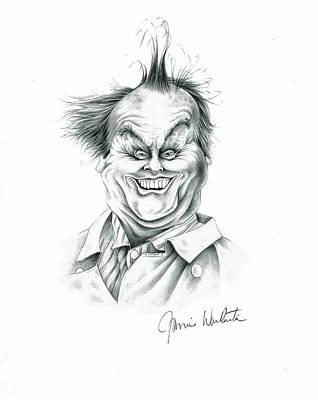 Jack Nicholson Drawing - Jack by Jamie Warkentin