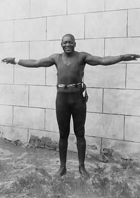 Jack Johnson 1878-1946 Heavyweight Art Print