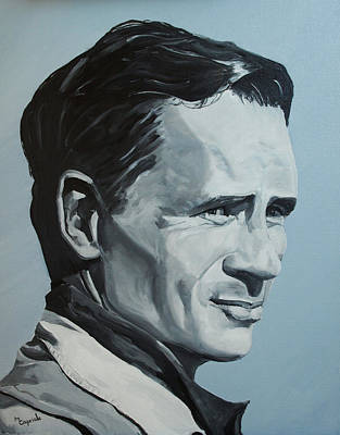 Painting - Jack Kerouac by Mary Capriole