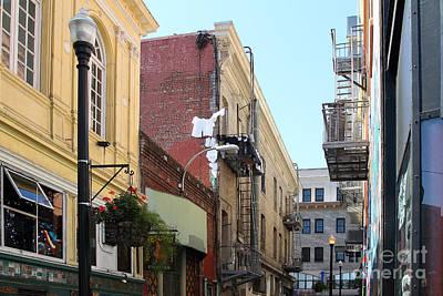 Jack Kerouac Street San Francisco Art Print by Wingsdomain Art and Photography