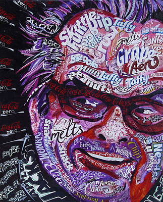 Jack Nicholson Mixed Media - Jack by Laura Benjamin