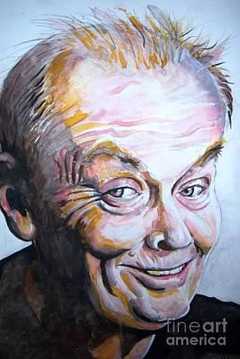 Jack Nicholson Painting - Jack Nicholson  by Ken Huber