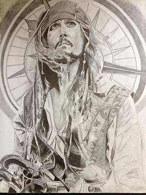 Jack Sparrow Captain Of The Seas Original