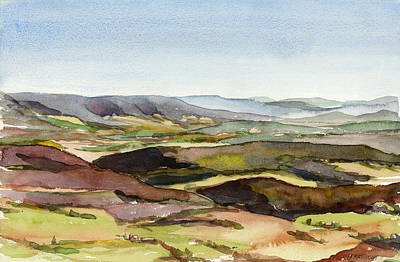 Jacks Mountain View Art Print by Jeff Mathison